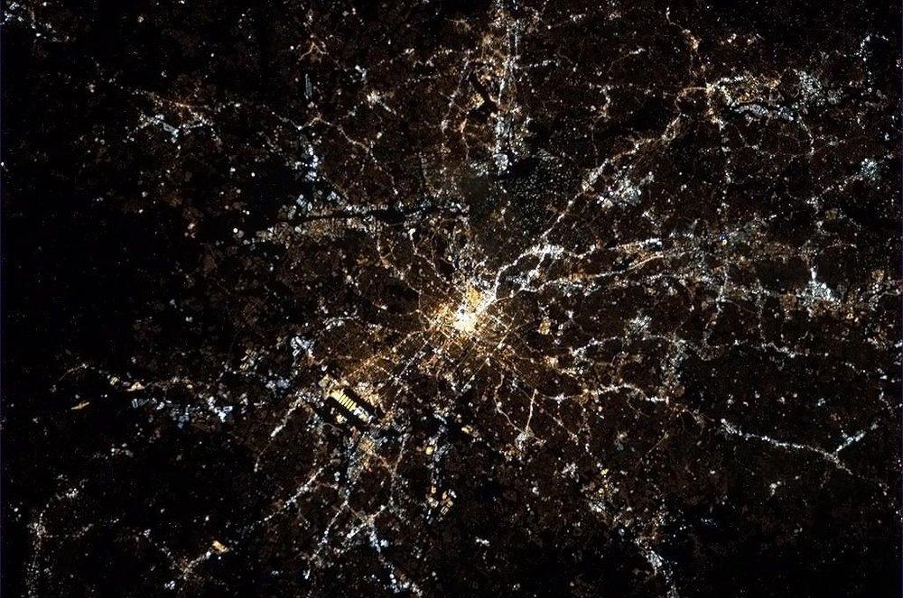 Atlanta GA from ISS