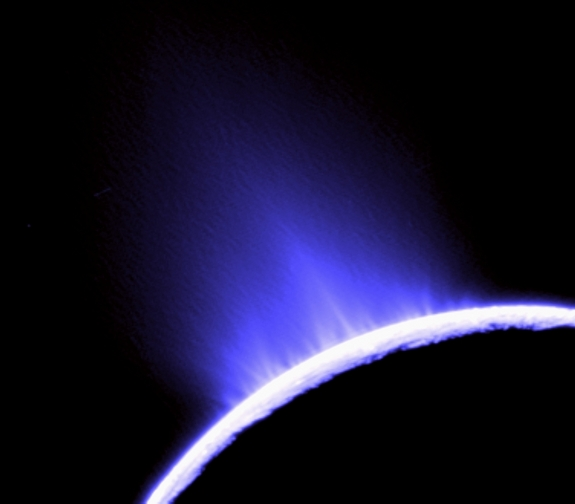 Geysers on Enceladus, Saturn's Moon
