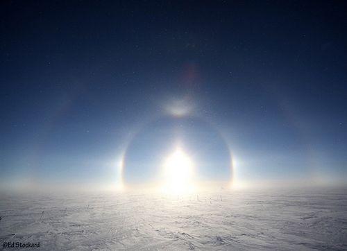 Greenland Sun Halo ~ Ed Stockard