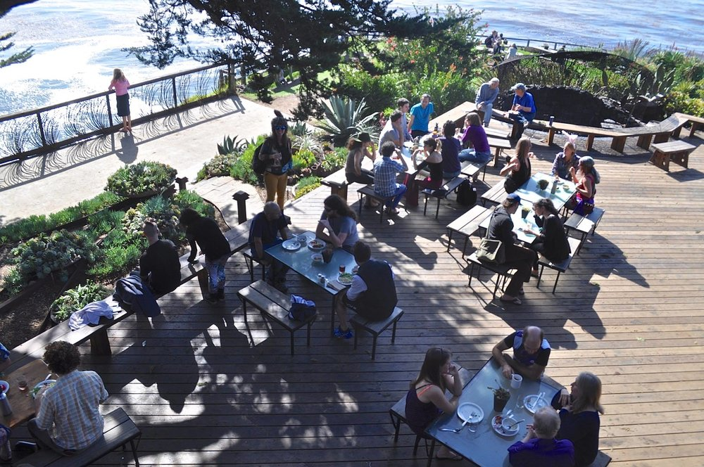 Esalen lunch ~ JH