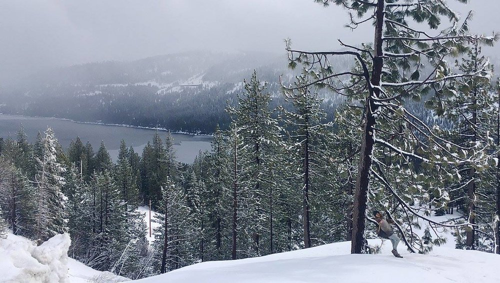 Donner Pass near Truckee, receives more snow than most spots in the country.