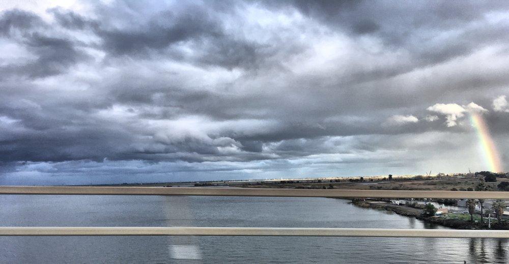 Sacramento River near the Mokelumne~San Joaquin Confluence, Spring Equinox 2018