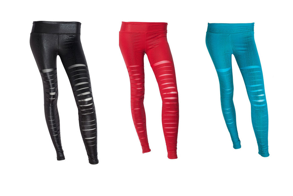 Slashed Leggings, BodyRock Sport