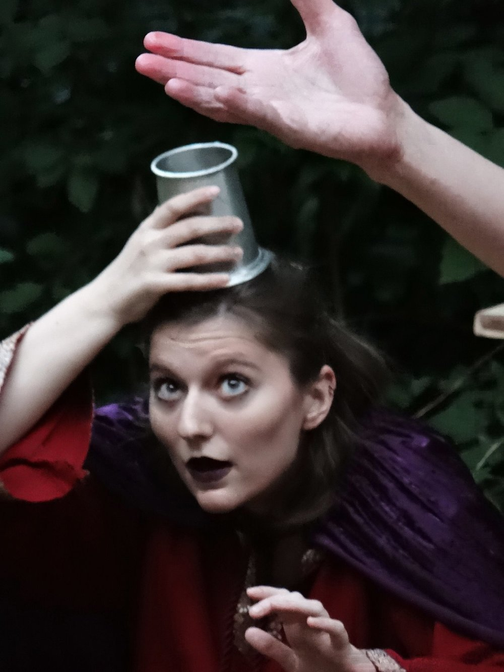 Kyra as Lennox in MSC's summer 2016 of  Macbeth  at the Edgewood College Stream Amphitheater