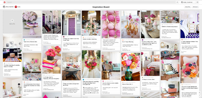 My Secret Board on pinterest to get inspiration for my brand. | ActivKel