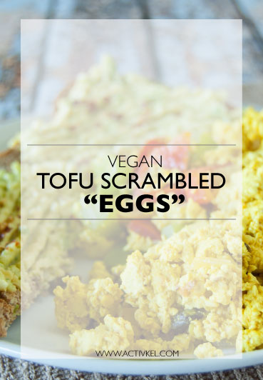 "Super delicious vegan tofu scrambled ""eggs"" recipe!"