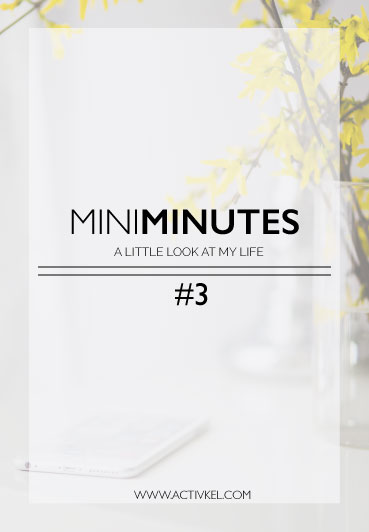 Mini Minutes #3 - a behind the scenes look into ActivKel, what I wish would have gone better, what is going really well and a little hint of what's to come in the future. I also sometimes like to crack a few lame jokes in between hehe. Click through to see how my blog and Pinterest analytics are stacking up!