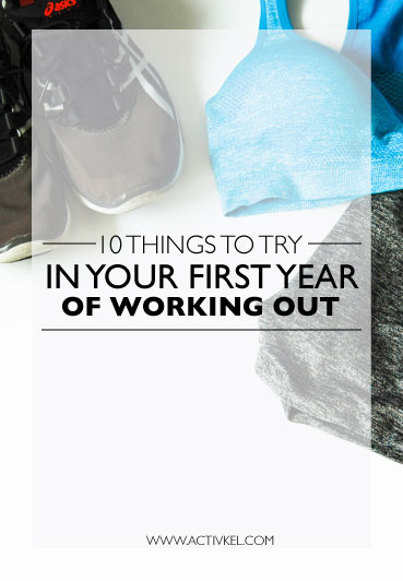 I understand that working out can be boring. You do the same thing every day, go to the same place every day… yeah not so fun. I was in the same boat, but once I tried different things I fell in love with exercise again. Click through to see 10 things you should try in your first year of working out!