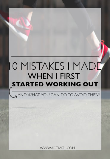 When I first started working out I had no idea what I was doing, which then led to a few big mistakes that wasted my time, wasted my money and made my fitness journey long, but still worth it! Click through to see my 10 big mistakes that I made and how you can avoid them.