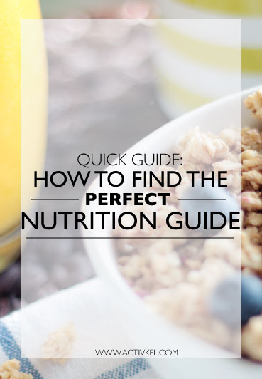 There are so many different diets/nutrition guides out there, but how do you know which one to go with? How do you know it'll work for you? Click through and I'll let you in on a few tips.