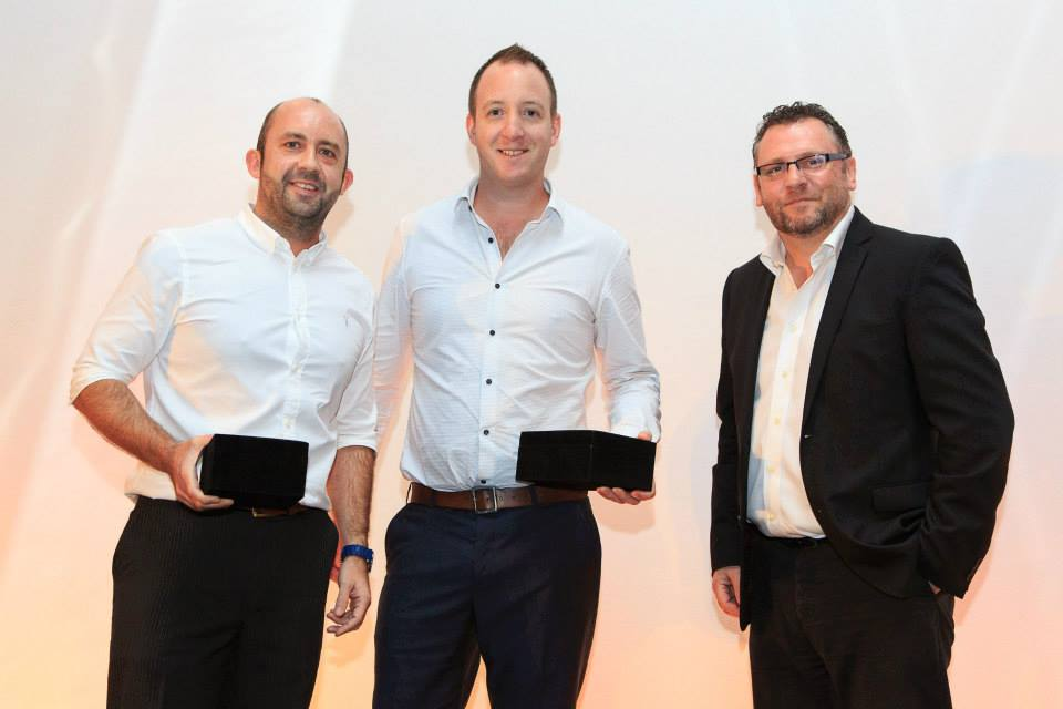 Collecting the Gold Award for 'Best Rebrand of Digital Property' at the Transform Awards 2015
