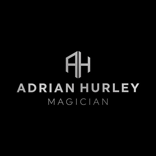 Alternative logo layout for magician @adrian.hurley.magician . . . #freelancedesigner #brandingdesigner #graphicdesign #identity #magician #magic #logo #logodesigner #freelancer #dubaifreelancer #designerdubai #dubaidesign #identitydesign #monogram #typography #dubai #dubaifreelancer