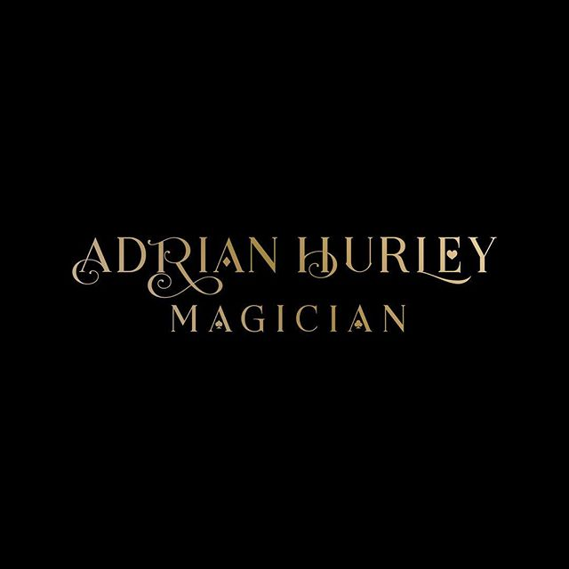 This is one of the alternative logo concepts presented to @adrian.hurley.magician using elements of the playing cards within the logo. . . . . #magic #magician #typography #logodesinger #logodesign #branding #magiclogo #graphicdesigner #graphicdesign #designerdubai #dubaidesigner #dubai #blackandgold #dubaidesigner #dubaigraphicdesigner