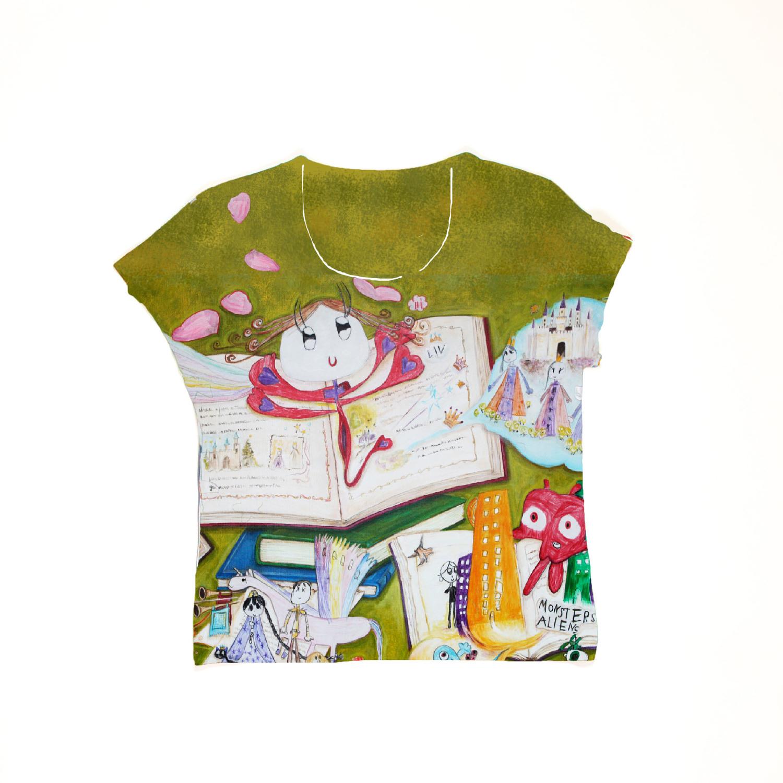 2c59b3adf7251 Fairy tale book kids T-shirt