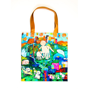 Customized women's tote bag