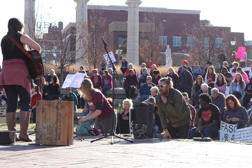 Columbia, Mo Women's March, January 21, 2017. (c) 2017 by Jason Griffin. All rights reserved.