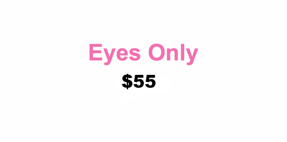 Includes eye primer and shadow colors, eyeliner, waterproof mascara, and eyebrow color and shaping $40