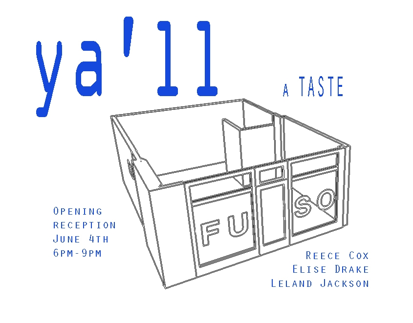 """YA'LL: a taste is an exhibition curated for  FUSO Gallery of Richmond, VA in  June 2015. Click to see more."