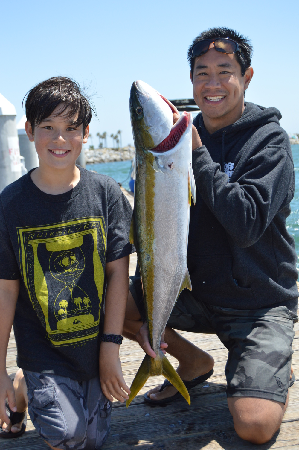Garrett and Wang Yellowtail