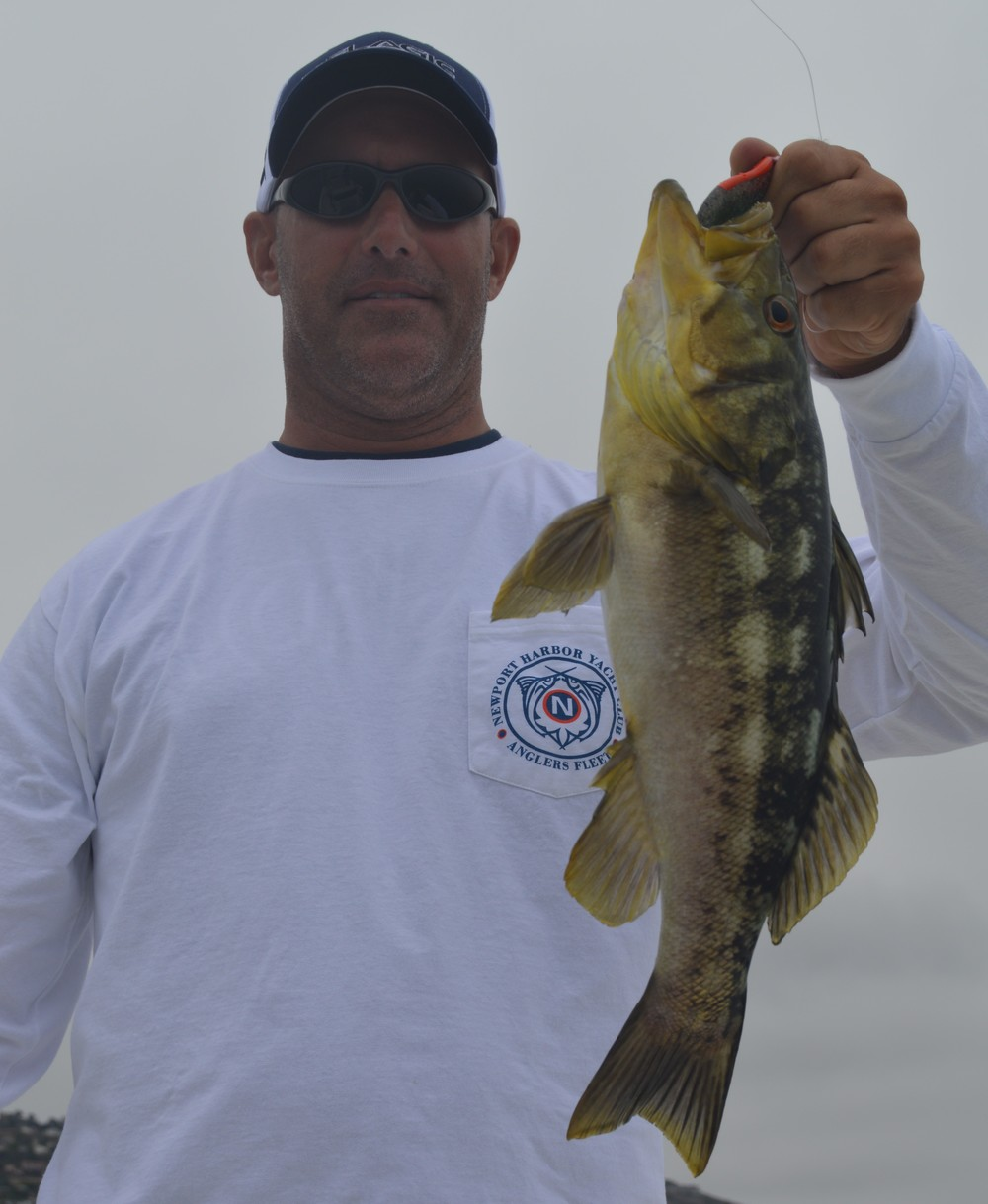 Ron with a solid local Calico Bass