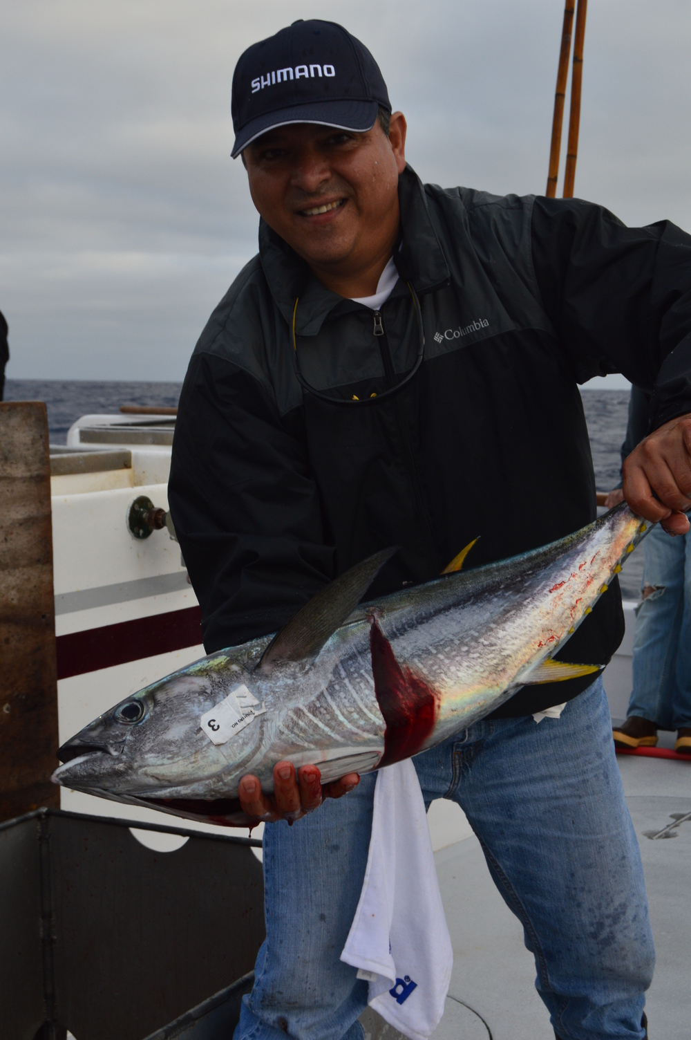. . . and some nice Yellowfin!