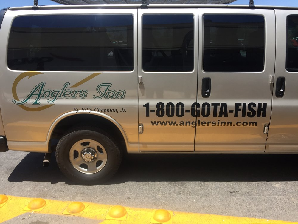 Our ride to Anglers Inn