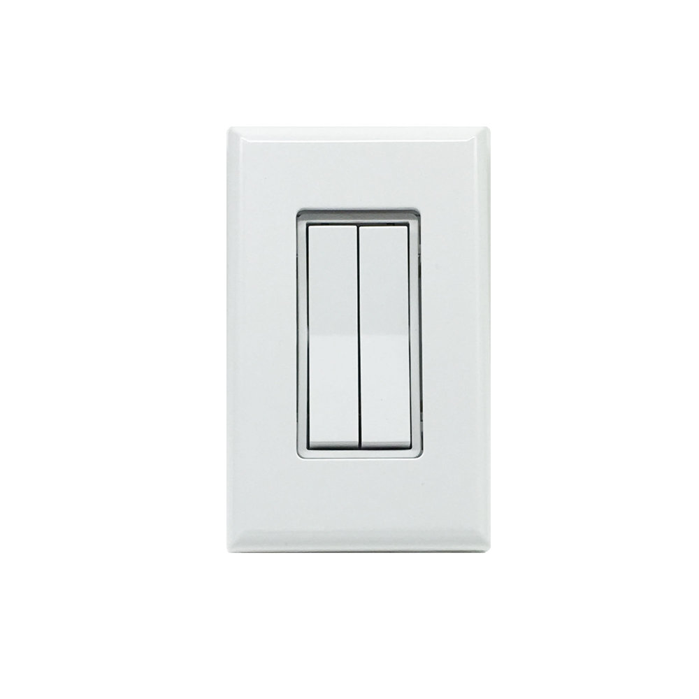 Dual Rocker Wireless Switch