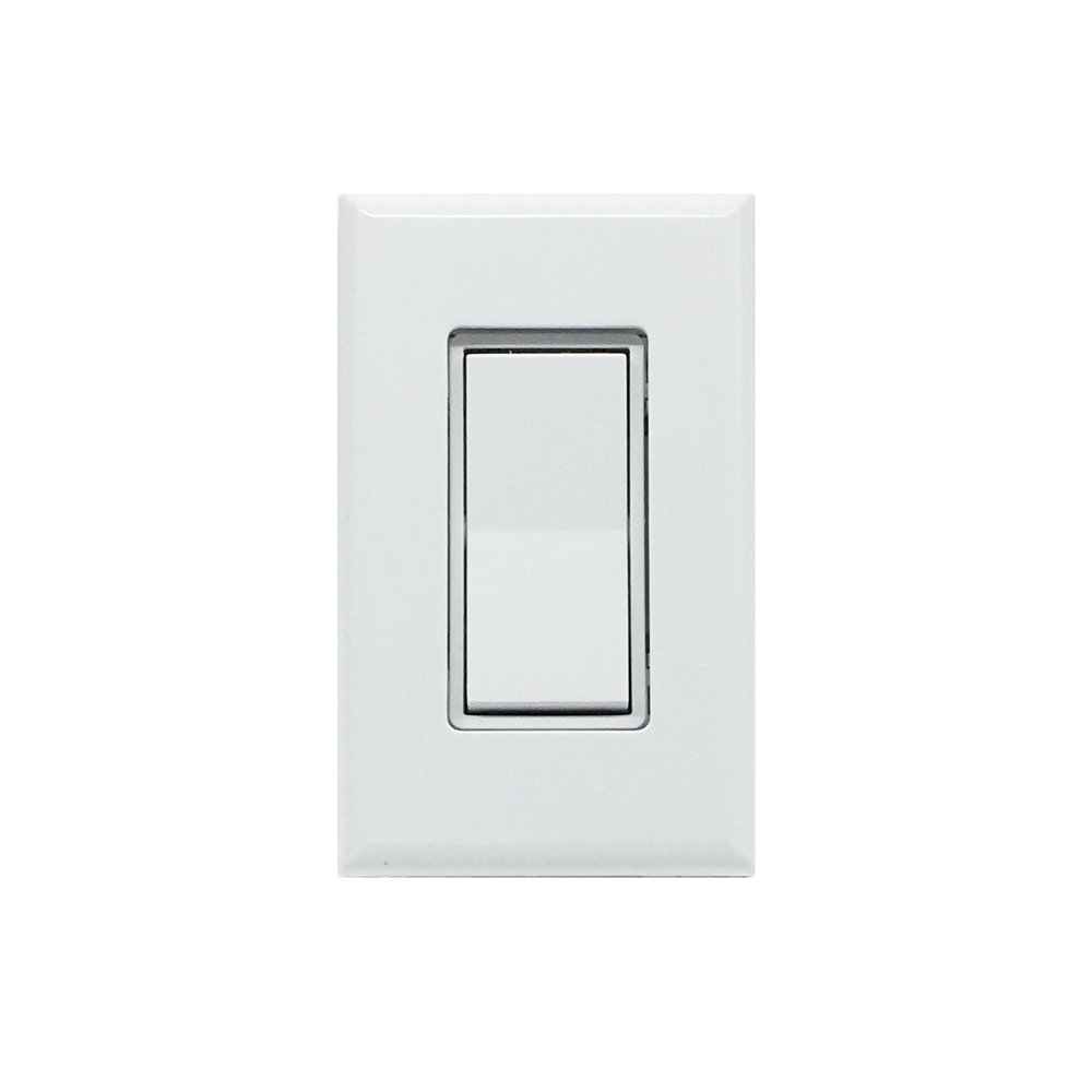 Illumra Single Rocker Switch  E9T-S1AWH    SKU: 83374