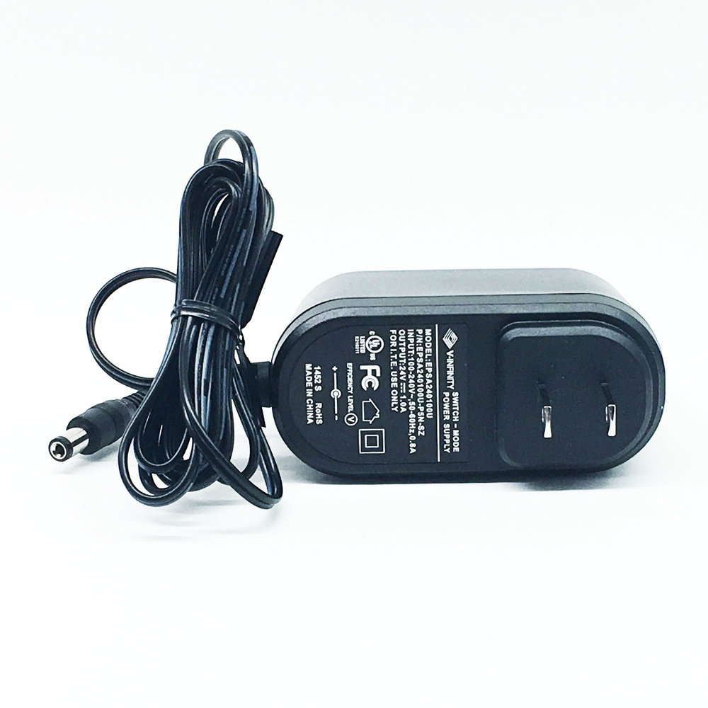 AC/DC Wall Mount Adapter 24V 36W     SKU: 43369