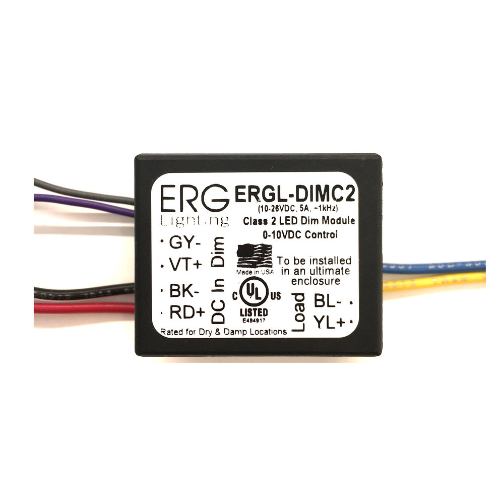 ERG PWM 0-10v 1 Channel Dimmer (wired app)