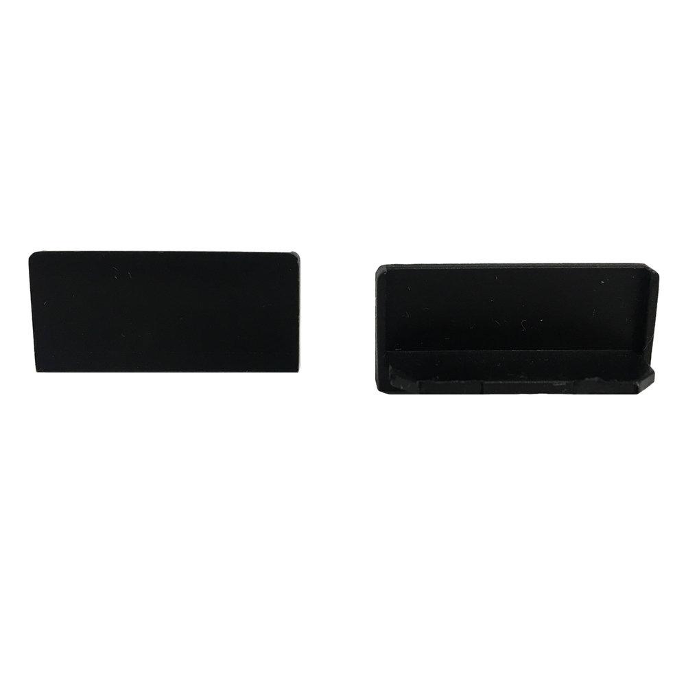 End Cap Snap Channel Airelight ES 1.0 (Black)