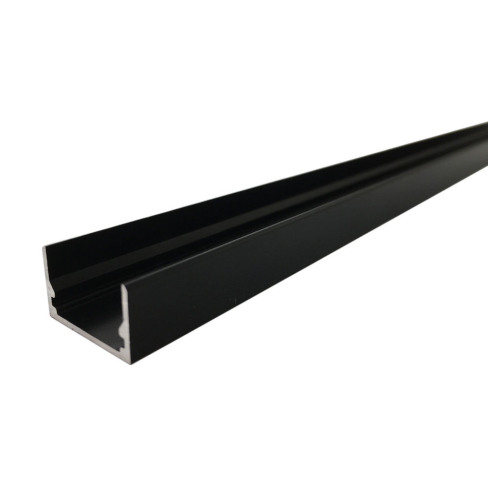Snap Channel Airelight ES 0.5 Black   SKU:  50512 - 4 Ft. 59885 - 6 Ft. 15437 - 8 Ft.