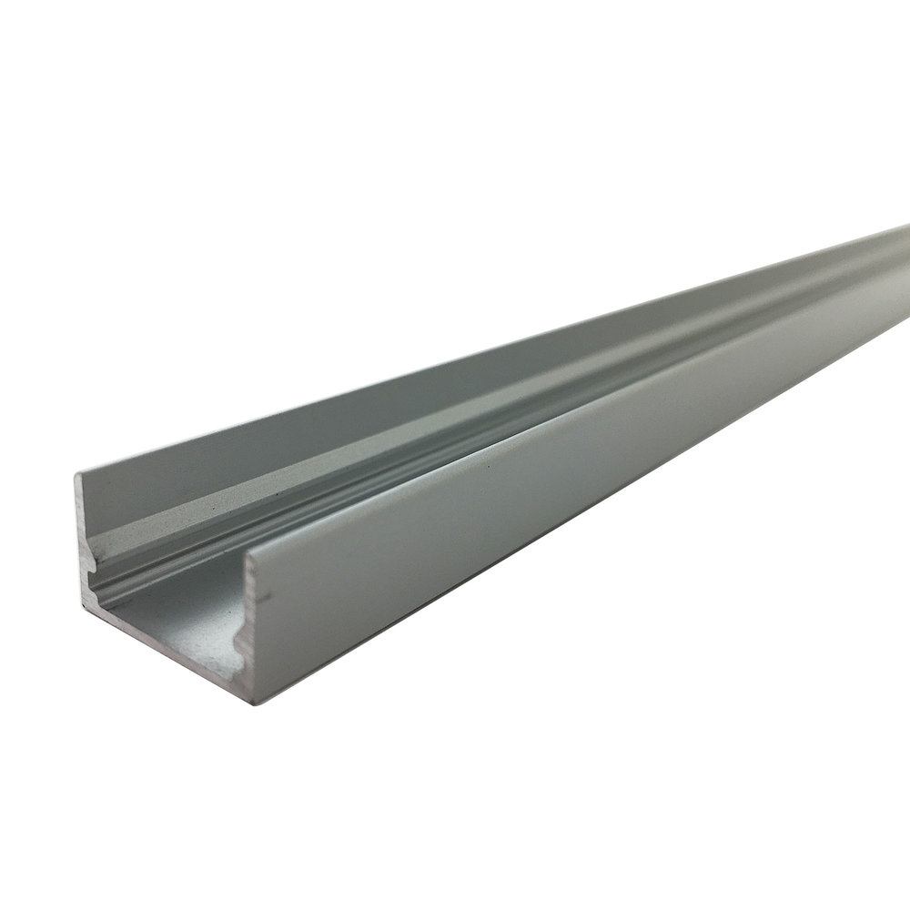 Snap Channel Airelight ES 0.5 Lt. Grey   SKU:  30231 - 4 Ft. 74552 - 6 Ft. 34948 - 8 Ft.