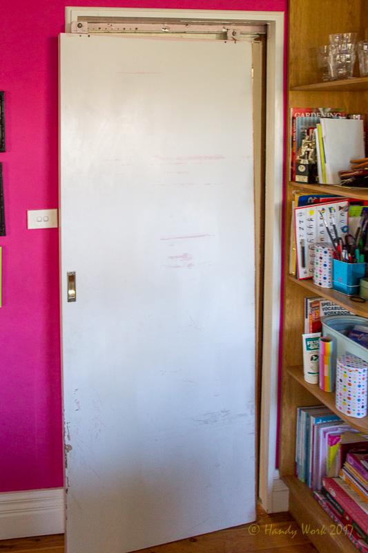 Sliding door off its track and jamming. & Doors Repaired - Hinged or Sliding u2014 Handy Work