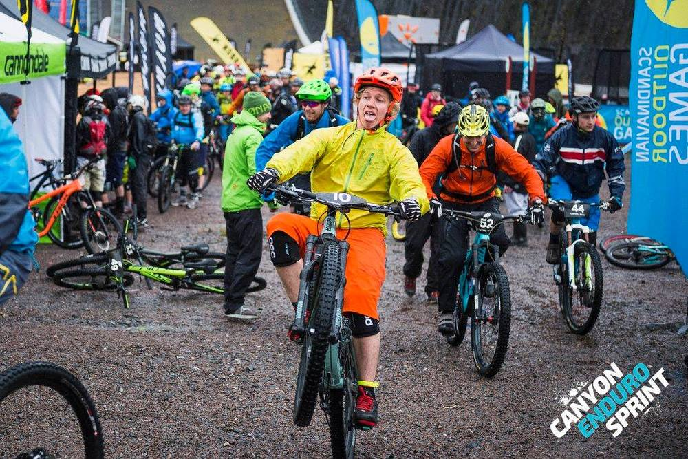Canyon Enduro Sprint 2015. Dammtorrt.