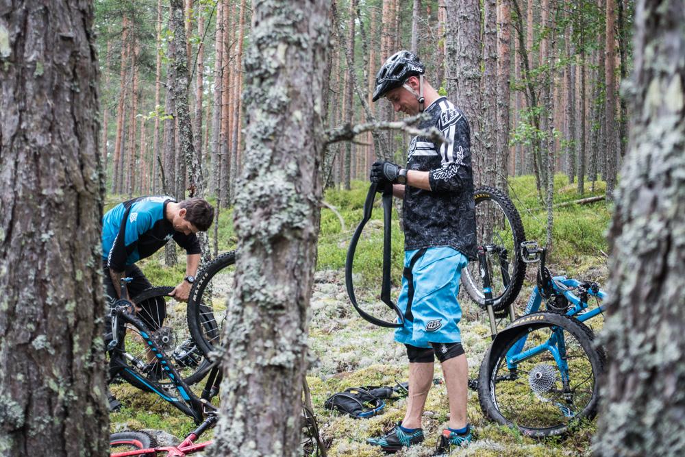En vanlig syn i Källviken. Foto: Erik Kilström