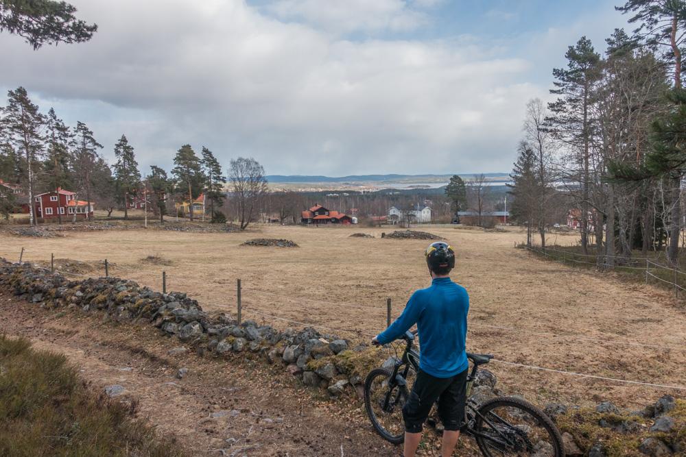 Utsikt från Gruvriset. Foto: Erik Kilström