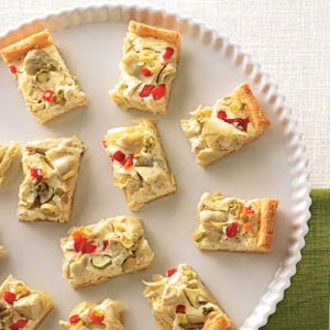 Artichoke and Cheese Squares Recipe