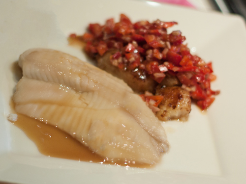 Honey & Whiskey Champagne Talapia Recipe