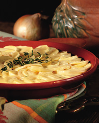 Scalloped Mustard Potatoes Recipe