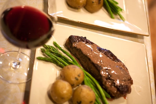 Champagne Steak Recipe