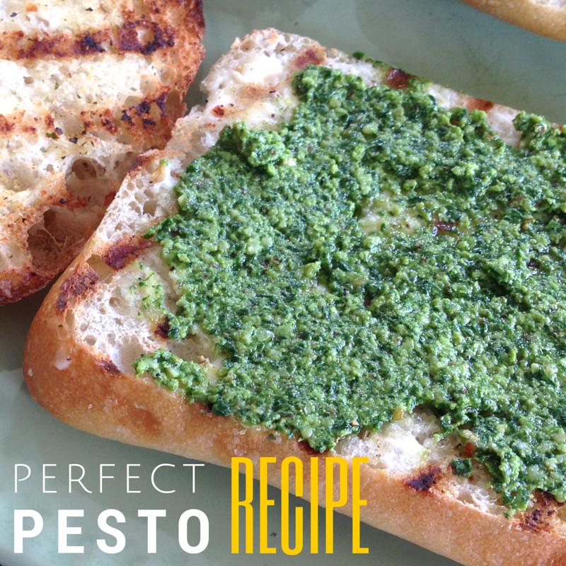 Perfect Pesto Recipe