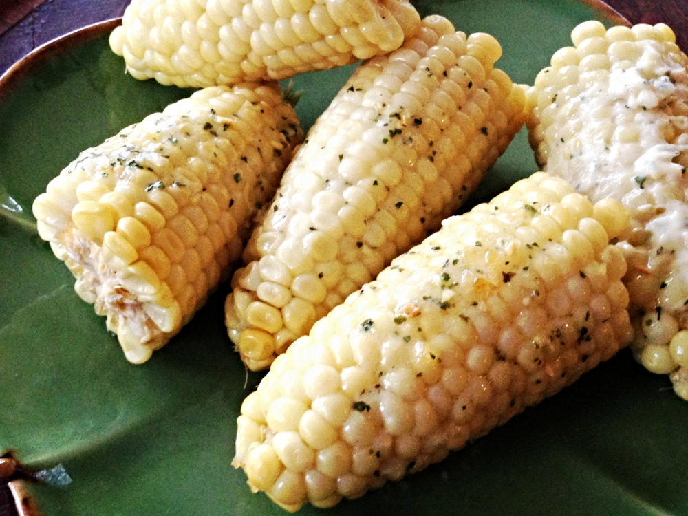 Cilantro Lime Corn on the Cob Recipe