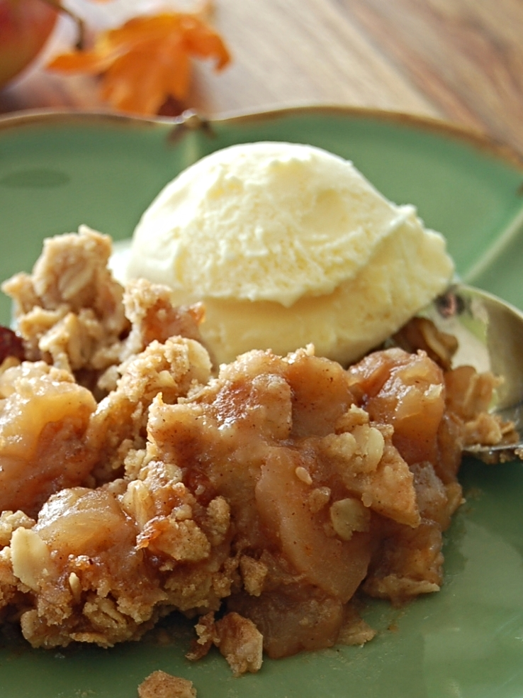 Apple Butter Crisp Recipe