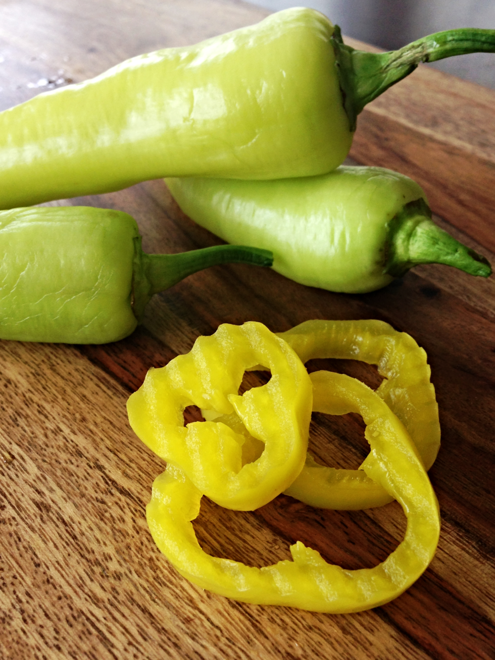 Hot Banana Peppers