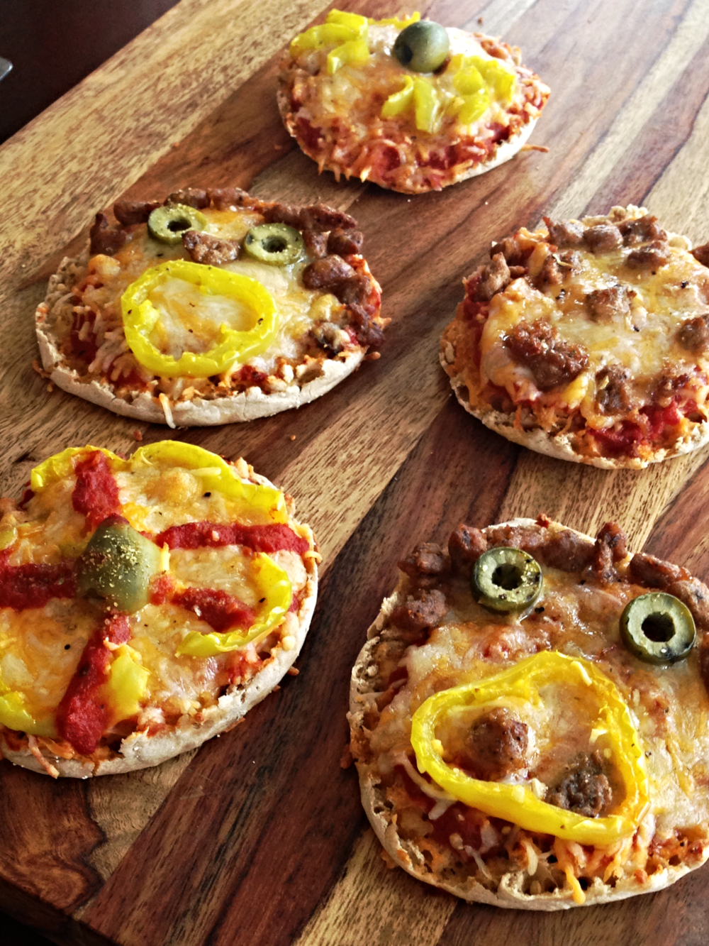 Spooky English Muffin Pizza Recipe