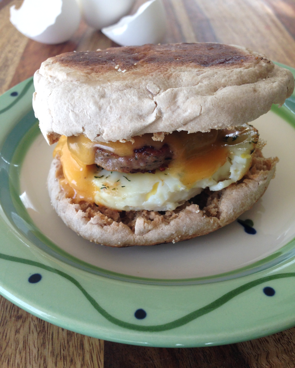 Lemon Dill Freezer Breakfast Sandwich Recipe
