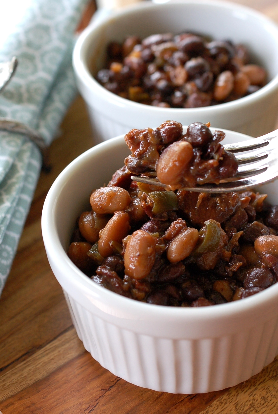 Hot Pepper Baked Beans Recipe
