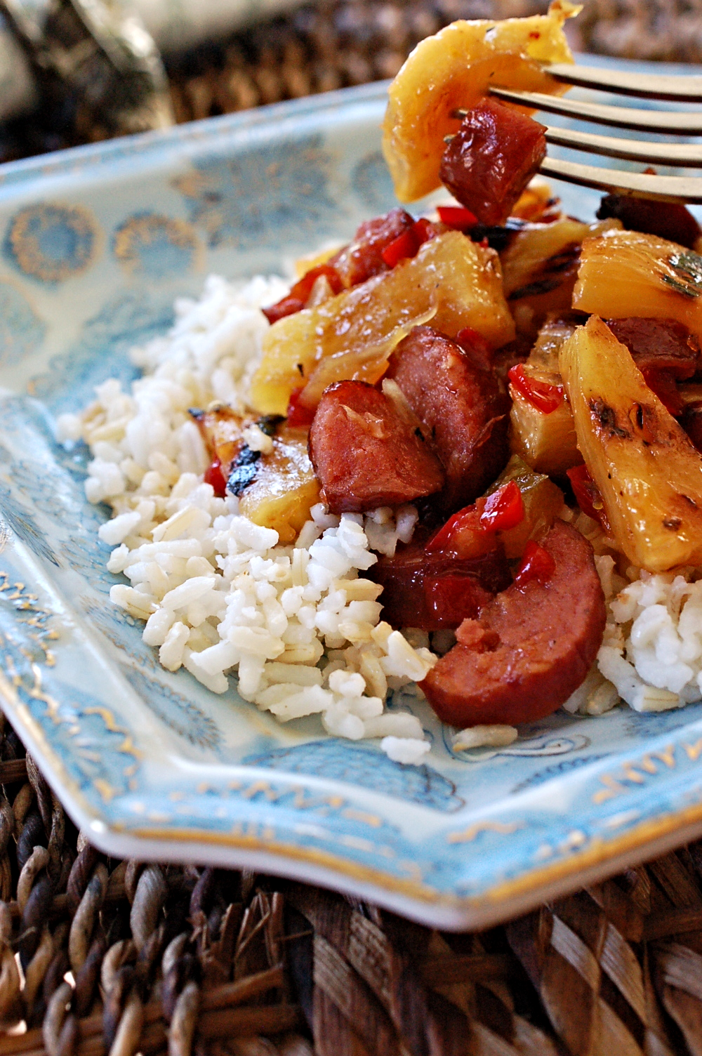 Hawaiian Sweet and Sour Smoked Sausage Recipe