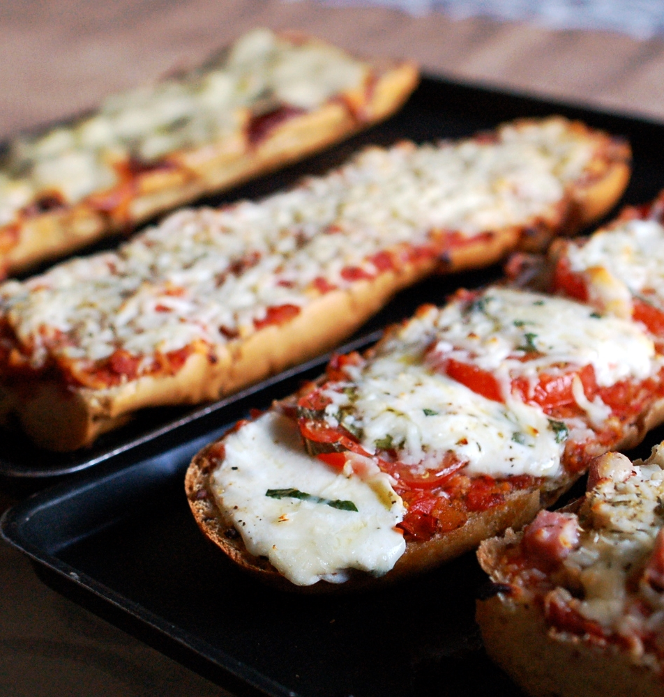 Cooking Tip:  How To Make French Bread Pizzas